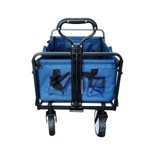 עגלת קמפינג KAMPIN XL צבע כחול (כולל מנשא)