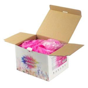 אבקת צבע בקופסאות