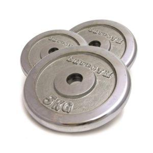 """משקולות צלחת ברזל איכותיות מתאים למוט 35 מ""""מ"""
