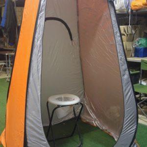 אוהל מקלחון / שירותים