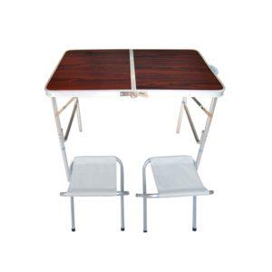סט שולחן ו-2 כסאות