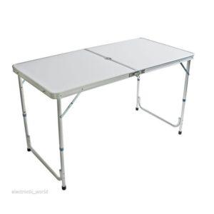 שולחן מתקפל 120/60