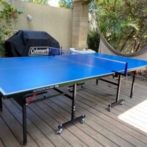 שולחן טניס חוץ עשוי אלומיניום  VO2 ALUM9
