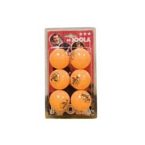 שישיית כדורי טניס 3 כוכבים