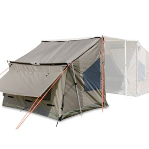 אוהל עם סככת צל ענק
