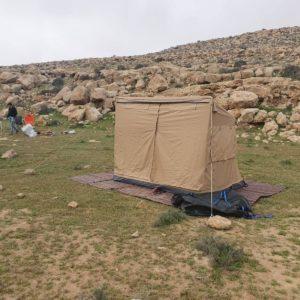 אוהל 2.5\2 ללא סככת צל