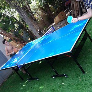 שולחן טניס חוץ ציפוי אלומיניום K-TOP