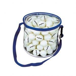 100 כדורי טניס כולל תיק Bandito