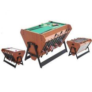 שולחן משחק K-Sport Multi Game משולב 3 משחקים ב-1