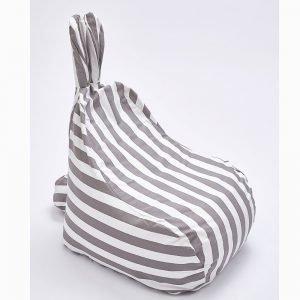 פוף ארנבון-פסים אפורים