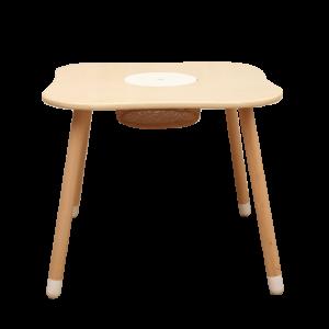 שולחן יצירה מרובע