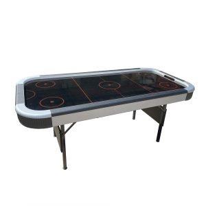 שולחן הוקי 6 פיט Ultra Black רגליים מתקפלות